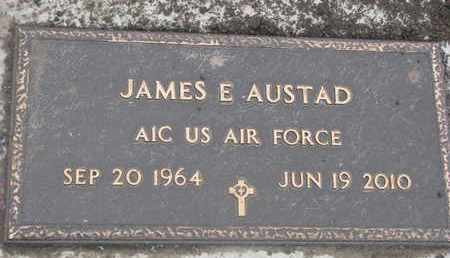 AUSTAD, JAMES E. (MILITARY) - Union County, South Dakota | JAMES E. (MILITARY) AUSTAD - South Dakota Gravestone Photos