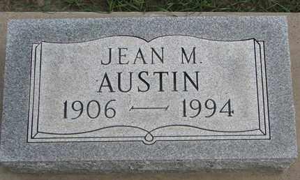 AUSTIN, JEAN M. - Union County, South Dakota | JEAN M. AUSTIN - South Dakota Gravestone Photos