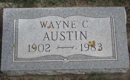 AUSTIN, WAYNE C. - Union County, South Dakota | WAYNE C. AUSTIN - South Dakota Gravestone Photos