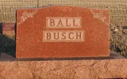 BALL, PLOT - Union County, South Dakota | PLOT BALL - South Dakota Gravestone Photos