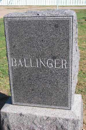 BALLINGER, FAMILY STONE - Union County, South Dakota | FAMILY STONE BALLINGER - South Dakota Gravestone Photos