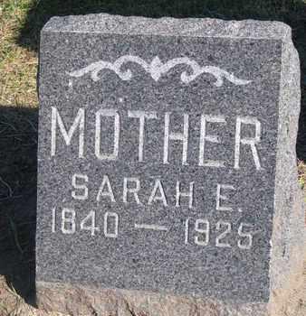 BALLINGER, SARAH E. - Union County, South Dakota | SARAH E. BALLINGER - South Dakota Gravestone Photos