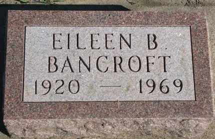 BANCROFT, EILEEN B. - Union County, South Dakota | EILEEN B. BANCROFT - South Dakota Gravestone Photos