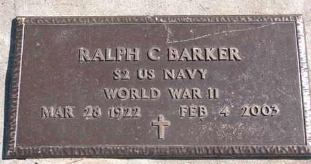 BARKER, RALPH C. (WORLD WAR II) - Union County, South Dakota | RALPH C. (WORLD WAR II) BARKER - South Dakota Gravestone Photos