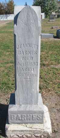 BARNES, JEANNETT - Union County, South Dakota | JEANNETT BARNES - South Dakota Gravestone Photos