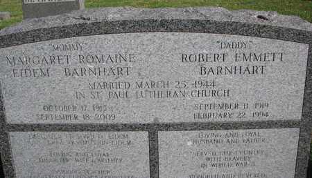 BARNHART, ROBERT (CLOSEUP) - Union County, South Dakota | ROBERT (CLOSEUP) BARNHART - South Dakota Gravestone Photos