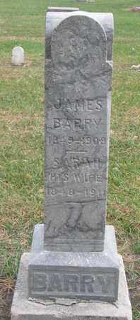 BARRY, JAMES - Union County, South Dakota | JAMES BARRY - South Dakota Gravestone Photos