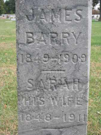 BARRY, SARAH (CLOSEUP) - Union County, South Dakota | SARAH (CLOSEUP) BARRY - South Dakota Gravestone Photos
