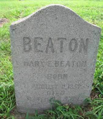 BEATON, MARY E. - Union County, South Dakota | MARY E. BEATON - South Dakota Gravestone Photos