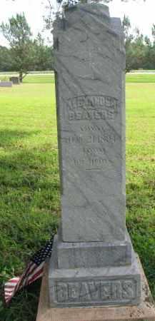 BEAVERS, ALEXANDER - Union County, South Dakota | ALEXANDER BEAVERS - South Dakota Gravestone Photos