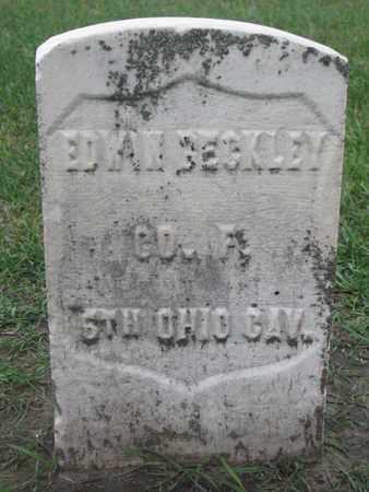 BECKLEY, EDWIN (MILITARY) - Union County, South Dakota   EDWIN (MILITARY) BECKLEY - South Dakota Gravestone Photos