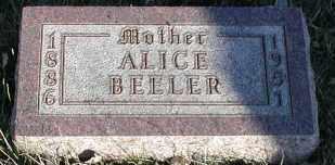 BEELER, ALICE - Union County, South Dakota | ALICE BEELER - South Dakota Gravestone Photos