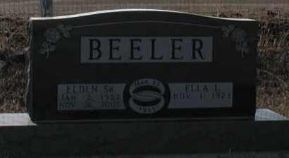 BEELER, ELLA L - Union County, South Dakota | ELLA L BEELER - South Dakota Gravestone Photos