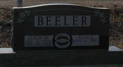 BEELER, ELLA L - Union County, South Dakota | ELLA L BEELER - South Dakota Gravestone Photos