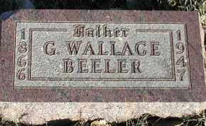 BEELER, GEORGE WALLACE - Union County, South Dakota | GEORGE WALLACE BEELER - South Dakota Gravestone Photos