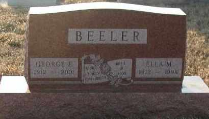 BEELER, ELLA M - Union County, South Dakota | ELLA M BEELER - South Dakota Gravestone Photos