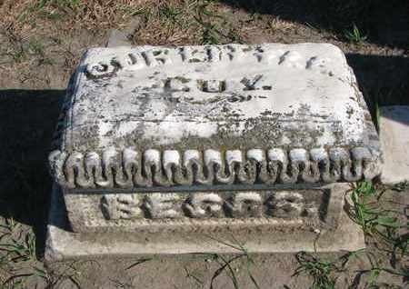 """WILSON ?, BEGGS """"OUR LITTLE GUY"""" - Union County, South Dakota 