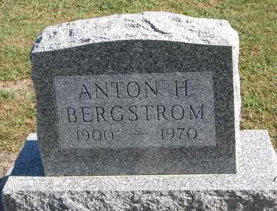 BERGSTROM, ANTON H. - Union County, South Dakota | ANTON H. BERGSTROM - South Dakota Gravestone Photos
