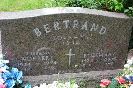 BERTRAND, ROSEMARY - Union County, South Dakota | ROSEMARY BERTRAND - South Dakota Gravestone Photos