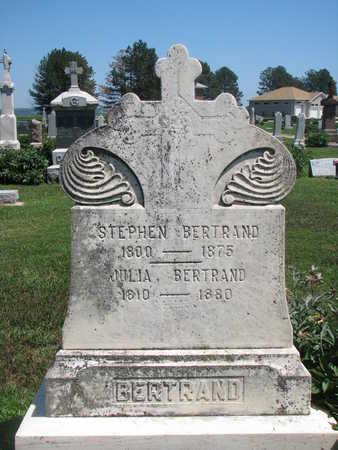 BERTRAND, JULIA - Union County, South Dakota | JULIA BERTRAND - South Dakota Gravestone Photos