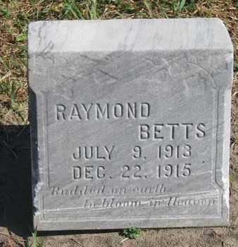 BETTS, RAYMOND - Union County, South Dakota | RAYMOND BETTS - South Dakota Gravestone Photos