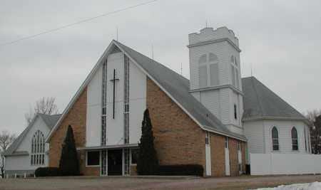 *BIG SPRINGS, BAPTIST CHURCH - Union County, South Dakota | BAPTIST CHURCH *BIG SPRINGS - South Dakota Gravestone Photos