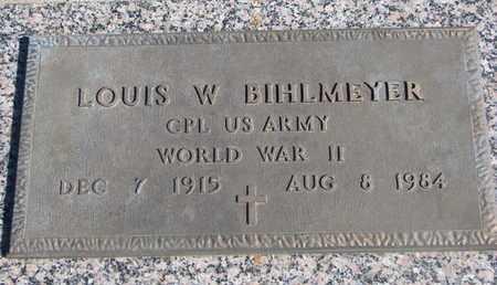 BIHLMEYER, LOUIS W. (WORLD WAR II) - Union County, South Dakota   LOUIS W. (WORLD WAR II) BIHLMEYER - South Dakota Gravestone Photos