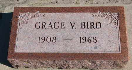 BIRD, GRACE V. - Union County, South Dakota | GRACE V. BIRD - South Dakota Gravestone Photos