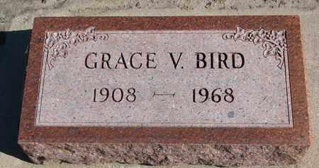BIRD, GRACE V. - Union County, South Dakota | GRACE V. BIRD - South Dakota Gravestone Photos