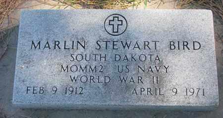 BIRD, MARLIN STEWART (WORLD WAR II) - Union County, South Dakota | MARLIN STEWART (WORLD WAR II) BIRD - South Dakota Gravestone Photos