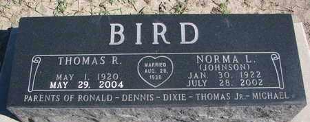 JOHNSON BIRD, NORMA L. - Union County, South Dakota | NORMA L. JOHNSON BIRD - South Dakota Gravestone Photos