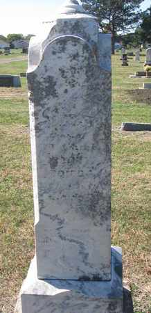 BLAIR ?, INFANT DAUGHTER - Union County, South Dakota   INFANT DAUGHTER BLAIR ? - South Dakota Gravestone Photos