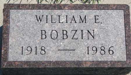 BOBZIN, WILLIAM E. - Union County, South Dakota | WILLIAM E. BOBZIN - South Dakota Gravestone Photos