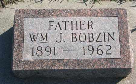 BOBZIN, WILLIAM J. - Union County, South Dakota   WILLIAM J. BOBZIN - South Dakota Gravestone Photos