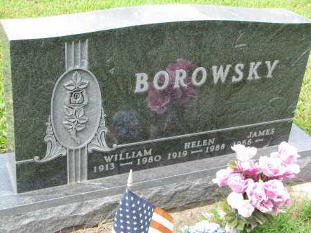BOROWSKY, WILLIAM - Union County, South Dakota | WILLIAM BOROWSKY - South Dakota Gravestone Photos