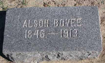 BOVEE, ALSON - Union County, South Dakota | ALSON BOVEE - South Dakota Gravestone Photos