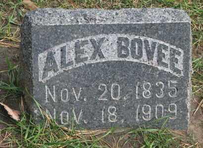 BOVEE, ALEX - Union County, South Dakota   ALEX BOVEE - South Dakota Gravestone Photos
