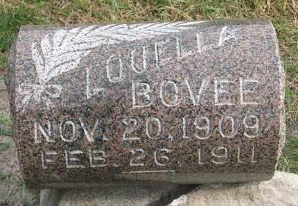 BOVEE, LOUELLA - Union County, South Dakota | LOUELLA BOVEE - South Dakota Gravestone Photos