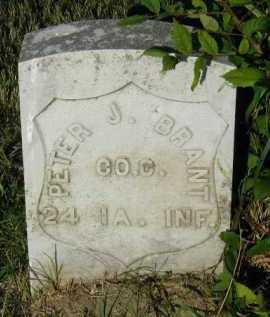 BRANT, PETER J. - Union County, South Dakota | PETER J. BRANT - South Dakota Gravestone Photos