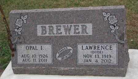"BREWER, LAWRENCE ""DUDE"" - Union County, South Dakota | LAWRENCE ""DUDE"" BREWER - South Dakota Gravestone Photos"