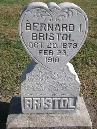 BRISTOL, BERNARD I. - Union County, South Dakota | BERNARD I. BRISTOL - South Dakota Gravestone Photos