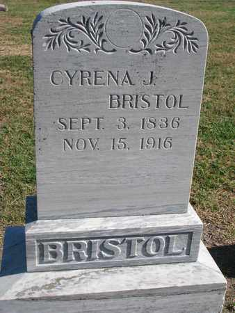 BRISTOL, CYRENA J. - Union County, South Dakota | CYRENA J. BRISTOL - South Dakota Gravestone Photos
