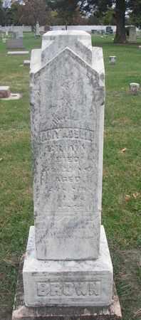 BROWN, AMY ADELLA - Union County, South Dakota | AMY ADELLA BROWN - South Dakota Gravestone Photos