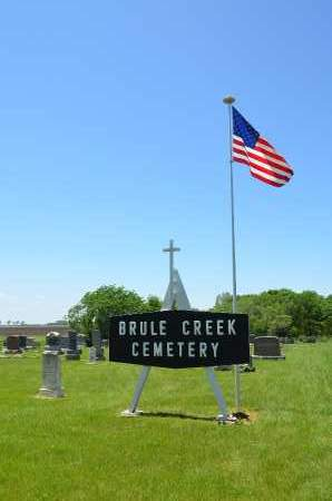 **BRULE CREEK, SIGN - Union County, South Dakota | SIGN **BRULE CREEK - South Dakota Gravestone Photos