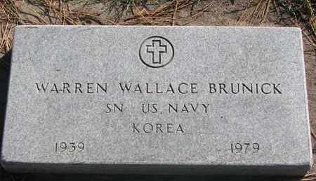 BRUNICK, WARREN WALLACE (KOREA) - Union County, South Dakota | WARREN WALLACE (KOREA) BRUNICK - South Dakota Gravestone Photos