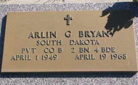 BRYAN, ARLIN G. (MILITARY) - Union County, South Dakota | ARLIN G. (MILITARY) BRYAN - South Dakota Gravestone Photos