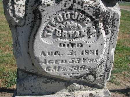 BRYAN, THEODORE M. (CLOSEUP) - Union County, South Dakota   THEODORE M. (CLOSEUP) BRYAN - South Dakota Gravestone Photos