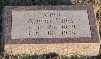 BUBS, ALBERT - Union County, South Dakota | ALBERT BUBS - South Dakota Gravestone Photos