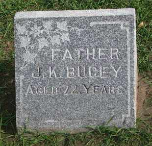 BUCEY, J.K. - Union County, South Dakota | J.K. BUCEY - South Dakota Gravestone Photos