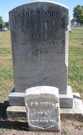 BUDDE, FRANK M. - Union County, South Dakota | FRANK M. BUDDE - South Dakota Gravestone Photos